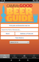 Screenshot of CAMRA Good Beer Guide