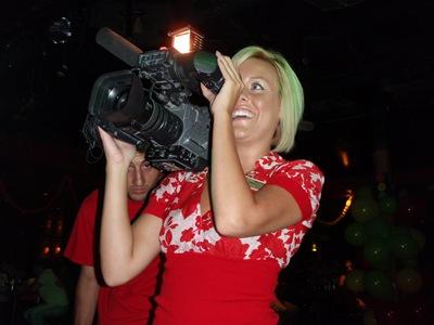Até a Heather andou de câmara na mão a capturar momentos em filme!