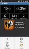 Screenshot of Stepometer - Pedometer App