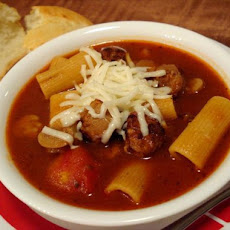 Sausage Pizza Soup