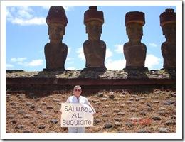 SALUDOS DESDE LA ISLA DE PASCUA