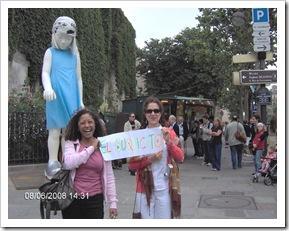 Yuya y Ada en Barrio Latino