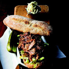 Barbecued Pork Sandwich