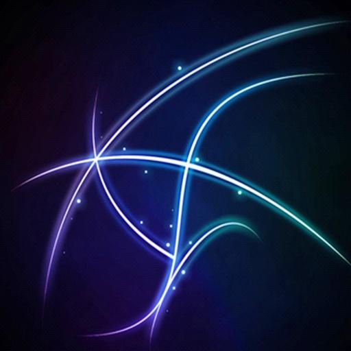 三維藍色閃電 個人化 App LOGO-APP試玩
