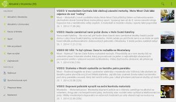 Screenshot of e-mostecko.cz