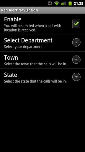 Red Alert Navigation