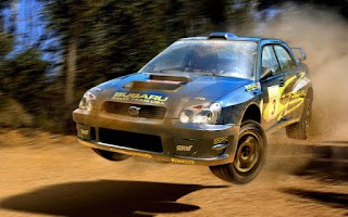 Screenshot of Desert Rally Racing
