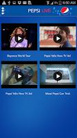 Screenshot of Pepsi Now
