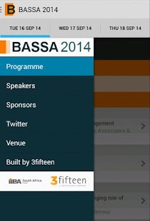 BASSA 2014 - screenshot