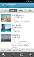 Screenshot of United Arab Emirates Triposo