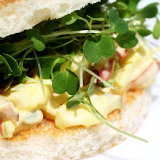 Saffron Lobster Tea Sandwiches