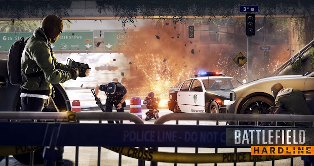 Battlefield: Hardline beta launches today