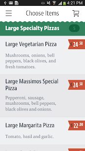 Massimo's Pizza - screenshot