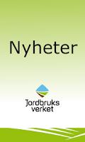 Screenshot of Nyheter Jordbruksverket