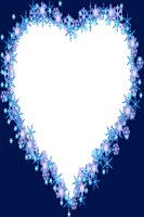 Screenshot of Blue Heart Frames