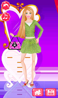 Screenshot of Fashion Girls Dress Up