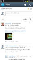 Screenshot of IDG.se