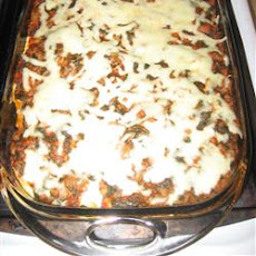 Layered Spinach Mostaccioli