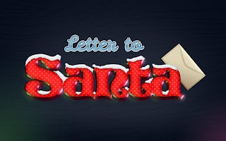 Screenshot of Letter to Santa