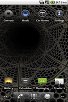 Screenshot of Epic 3D Tunnel  Live Wallpaper