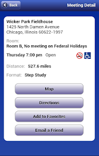 App NA Meeting Search 2.2 APK for Windows Phone