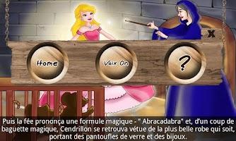 Screenshot of Cendrillon