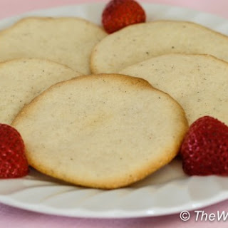 Almond Cardamom Tea Cookies