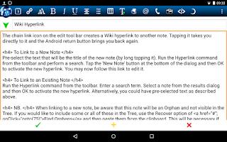 Screenshot of NoteLynX Pro Outliner Mindmap