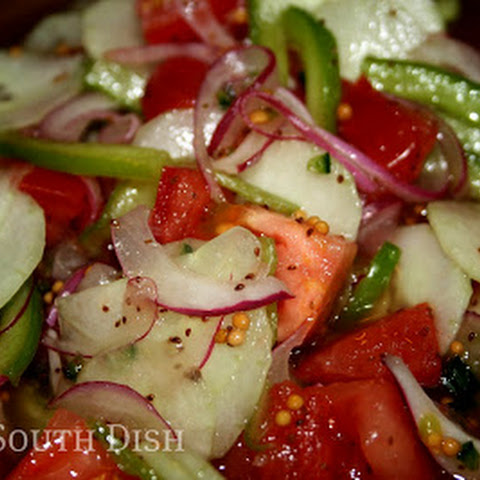 Fire and Ice Summer Salad