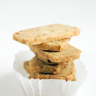 Almond-Orange Shortbread