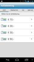 Screenshot of Lycamobile - Aufladung
