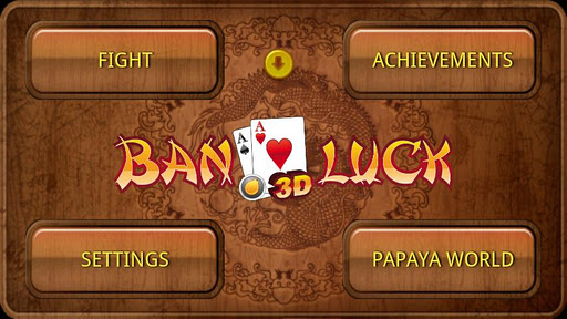 Ban Luck 3D Chinese blackjack