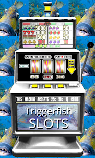 3D Triggerfish Slots - Free - screenshot