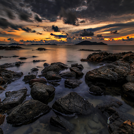 black rock by Michael Therendo - Landscapes Sunsets & Sunrises