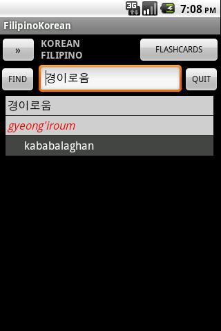 Filipino Korean Dictionary