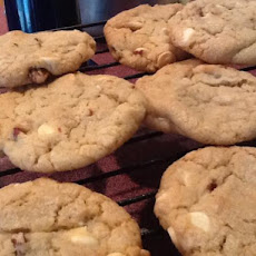 White Chocolate Chip Pecan Cookies