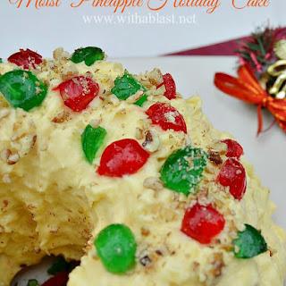 Moist Pineapple Fruit Cake Recipes