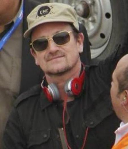 Bono's sunglasses