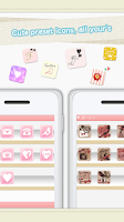 Screenshot of create cute icon★Iconmake