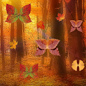 Fall Leaf Butterflies Live icon