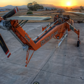 by Rick Mann - Transportation Helicopters ( helicopter, airport, flight, skycrane )