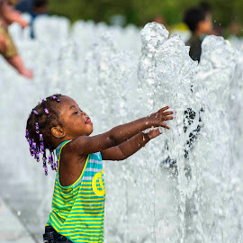 Playin in the water by Mark Paterson - Babies & Children Children Candids