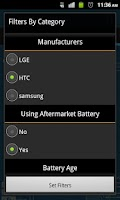 Screenshot of Battery Compare
