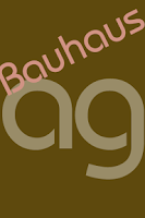 Screenshot of Bauhaus FlipFont