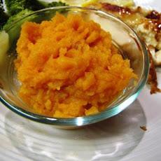 Sweet Potato Puree With Brown Sugar and Sherry