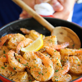 Garlic Butter Shrimp With Vegetables Recipes
