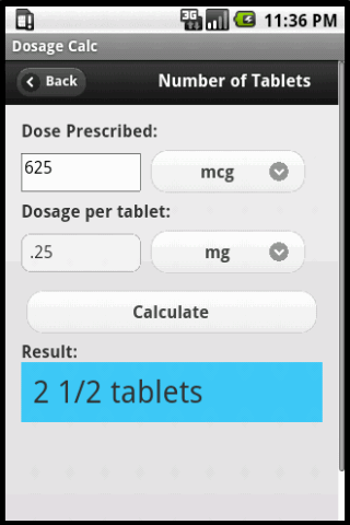 玩免費醫療APP|下載Dosage Calc app不用錢|硬是要APP