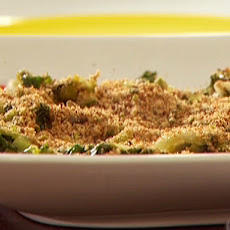 Escarole with Lemon Bread Crumbs