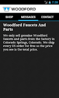 Screenshot of Woodford Faucet