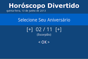 Screenshot of Horóscopo Divertido Diário